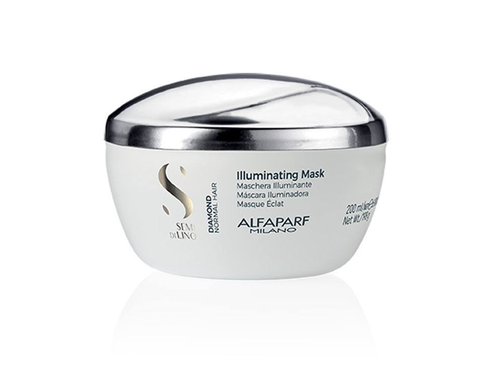 Alfaparf Semi Di Lino Diamond Illuminating Máscara 200ml