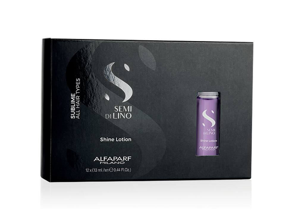 Alfaparf Semi Di Lino Sublime Shine Lotion 12un de 13ml