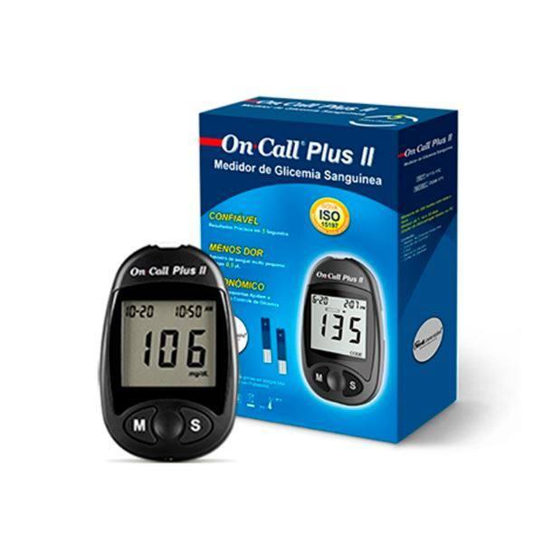 Aparelho Monitor De Glicemia On Call Plus II