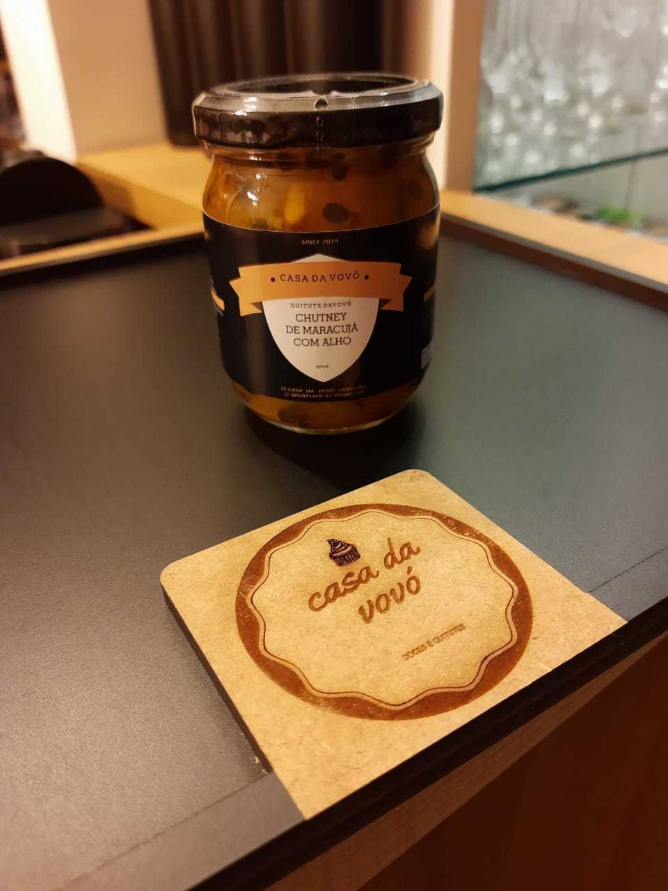 Chutney de Maracuja com Alho