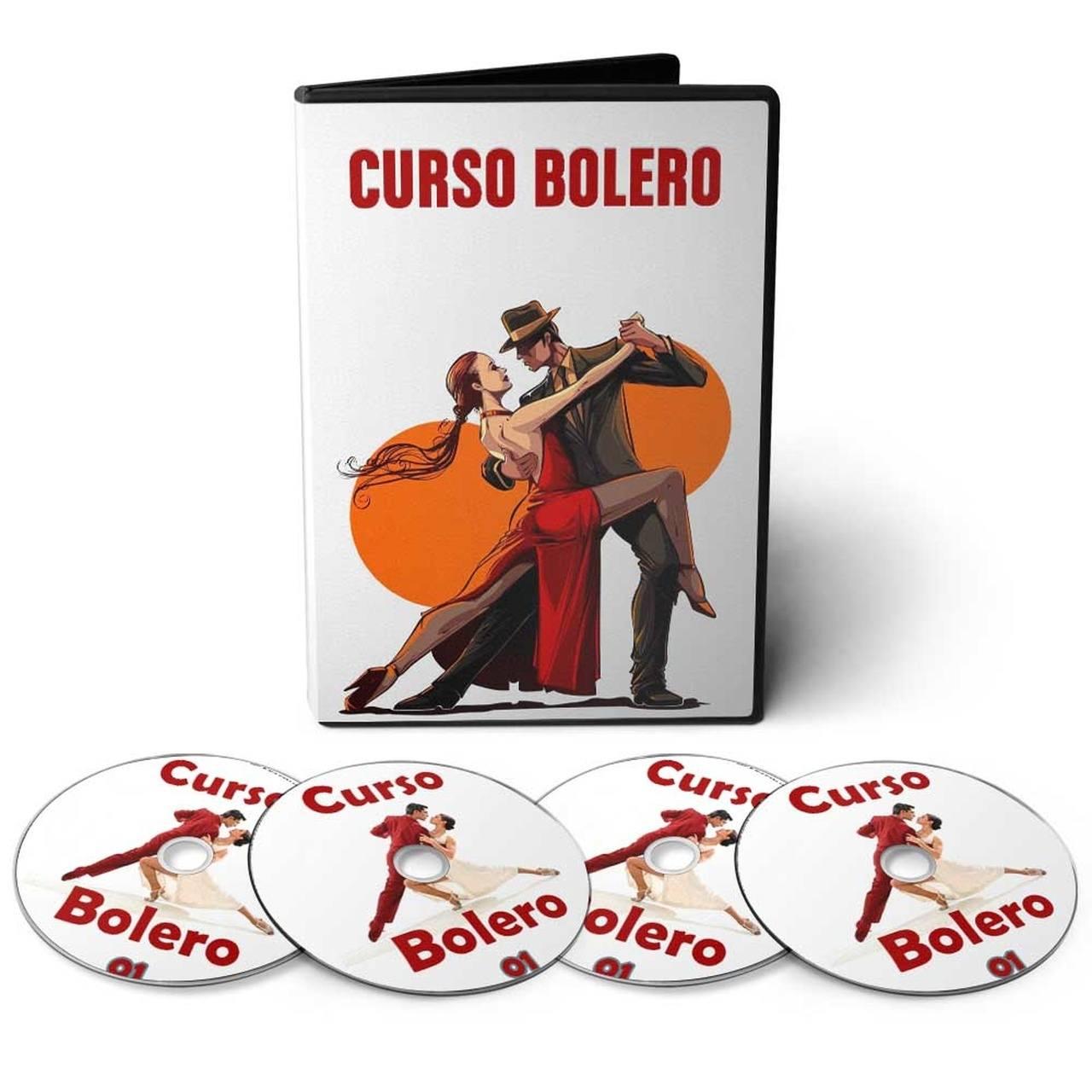 Curso aprenda Dançar Bolero em 04 DVDs Videoaula
