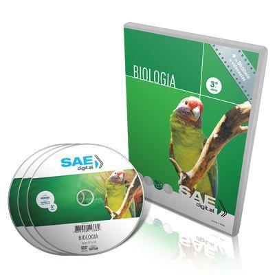 Curso de Biologia 3ª Série Ensino Médio em 03 DVDs Videoaula