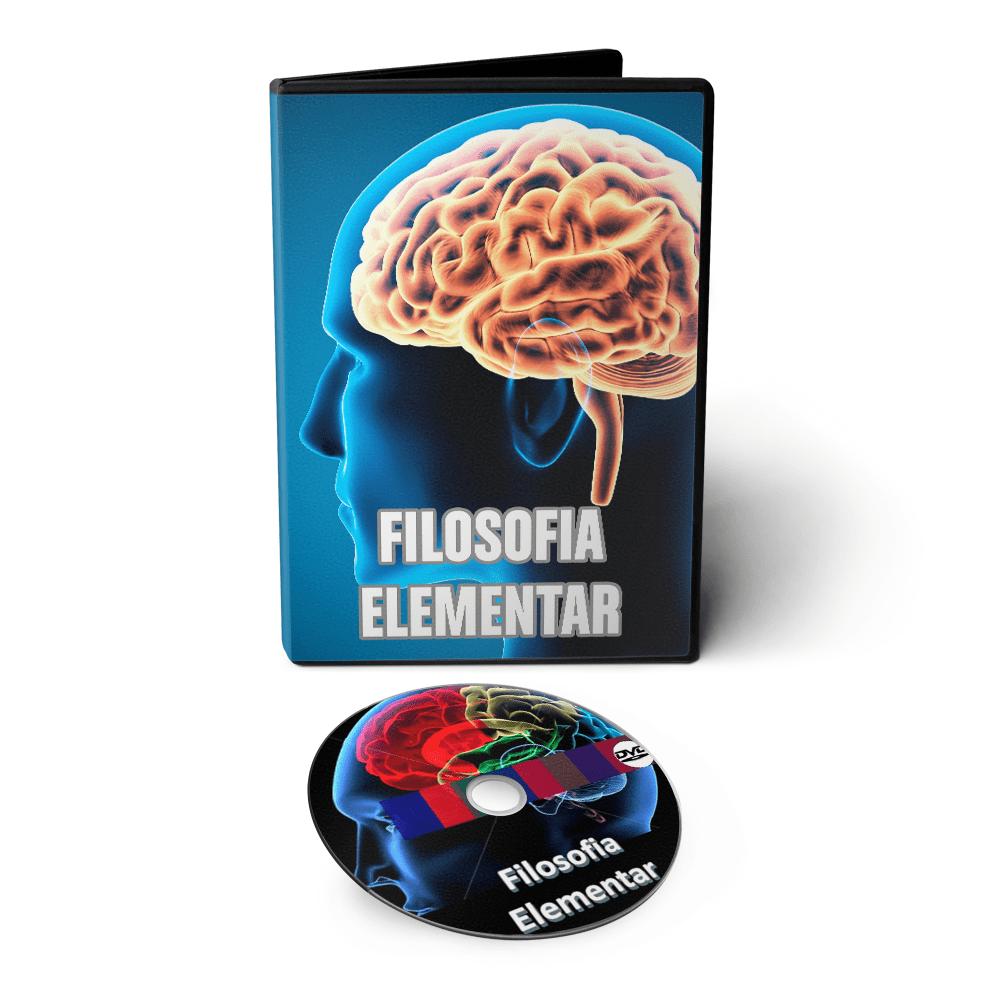Curso de Filosofia Elementar em DVD Videoaula