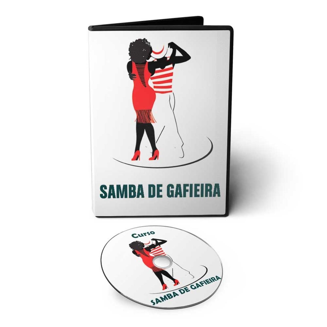 Curso de Samba de Gafieira em DVD Videoaula