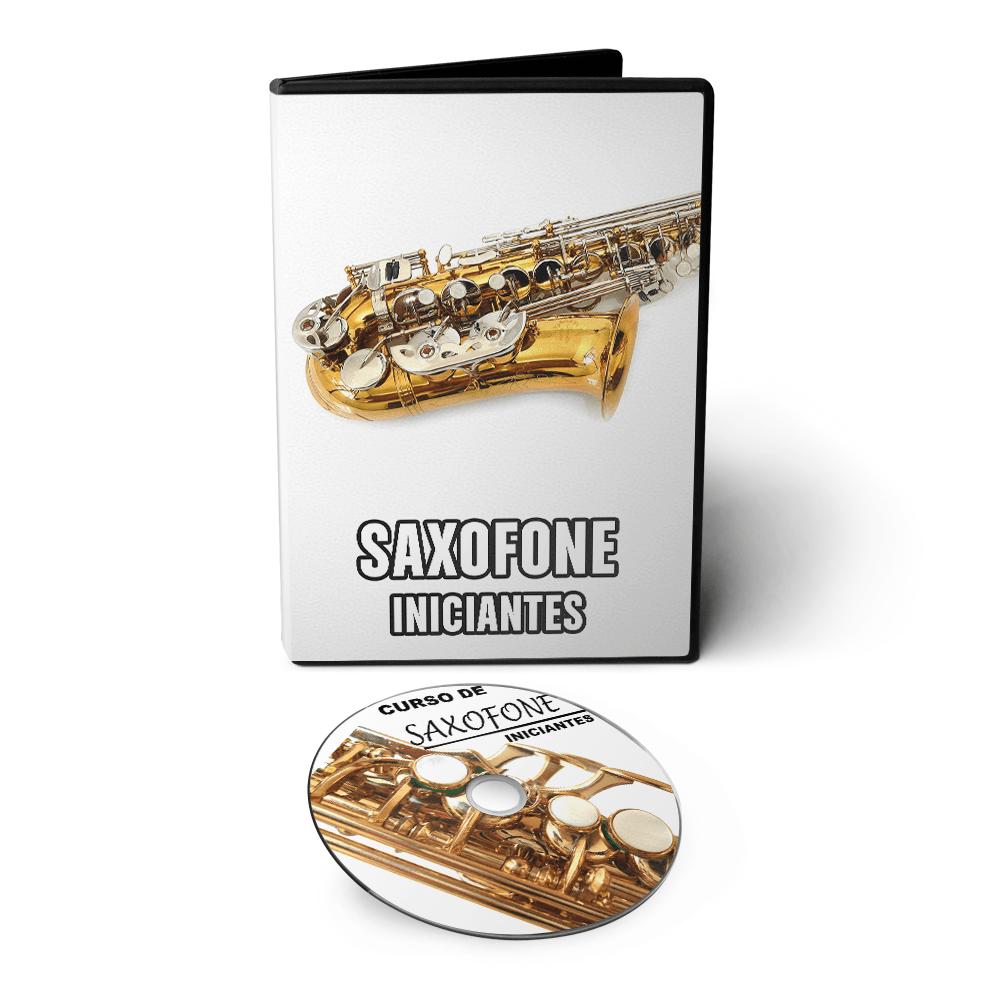 Curso de Sax Saxofone Básico/Intermediário em 02 DVDs Videoaula