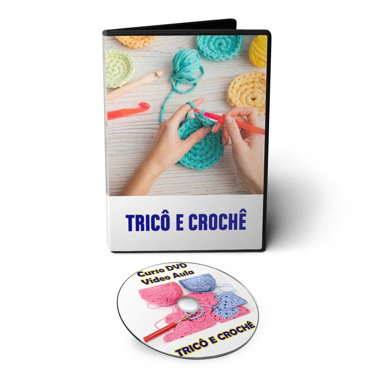 Curso de Tricô e Crochê em DVD Videoaula