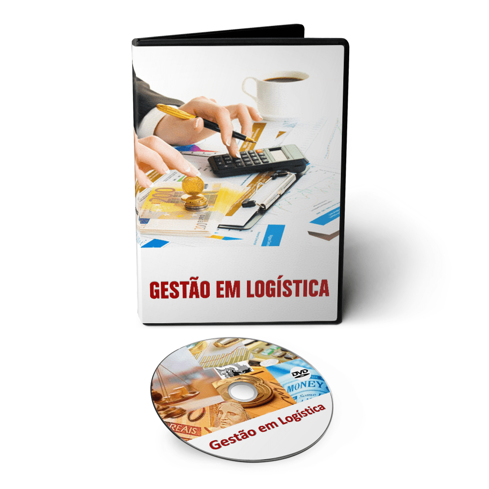 Curso Gestão em Logística em DVD Videoaula