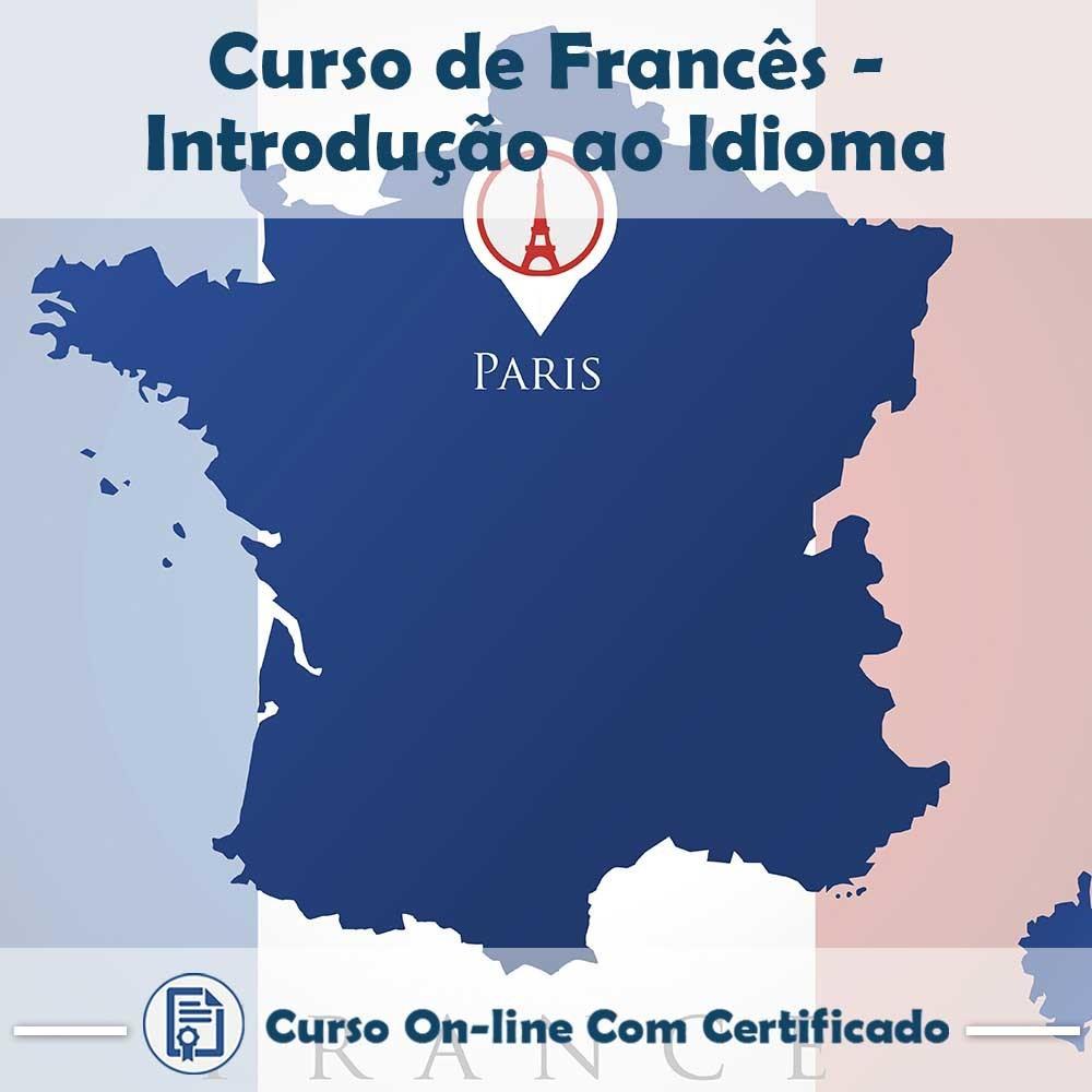 Curso online em videoaula Francês - Introdução ao Idioma com Certificado