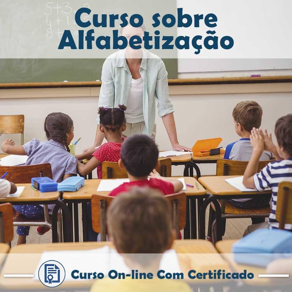 Curso online em videoaula sobre Alfabetização com Certificado