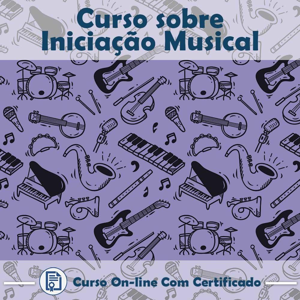 Curso online em videoaula sobre Iniciação Musical com Certificado