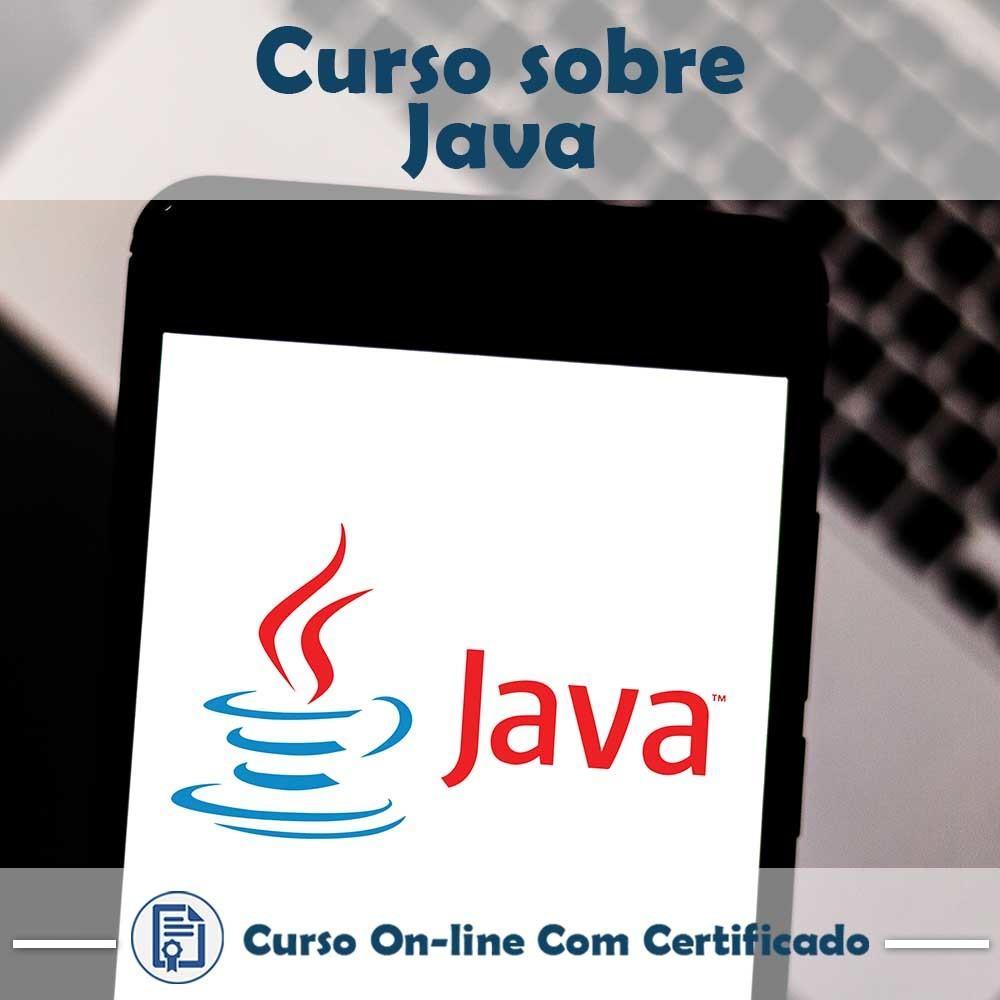 Curso online em videoaula sobre Java com Certificado
