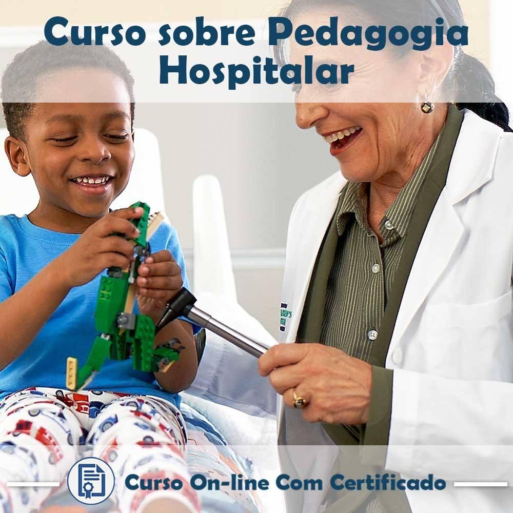 Curso online em videoaula sobre Pedagogia Hospitalar com Certificado