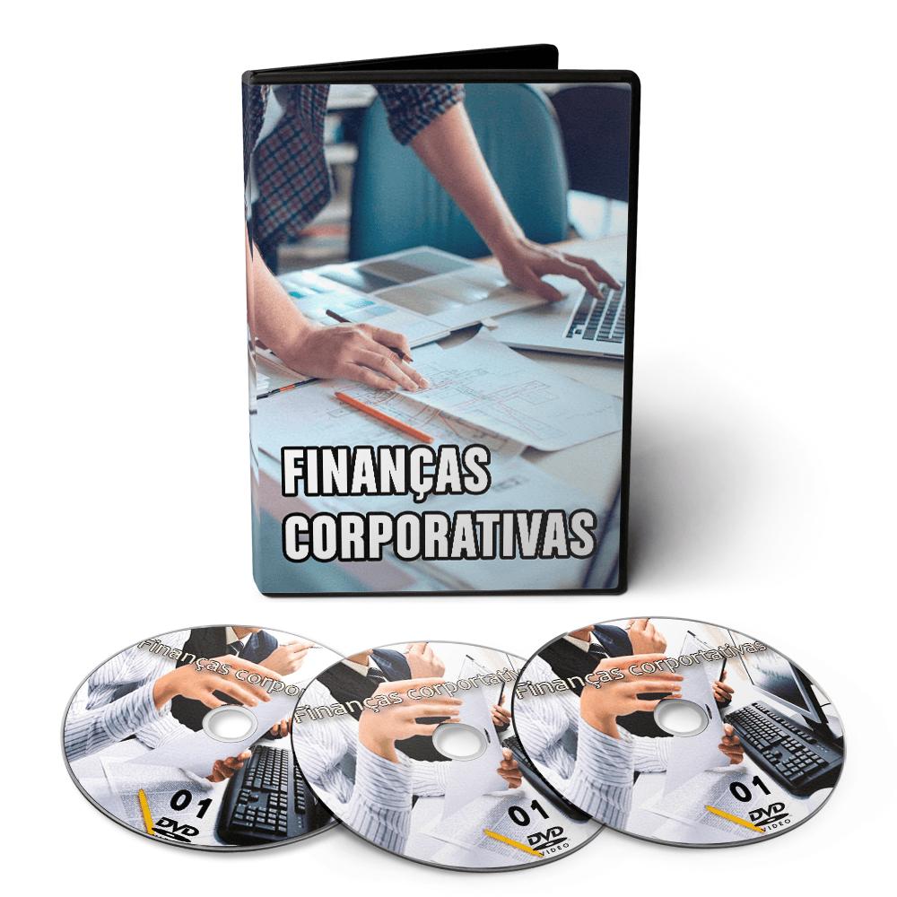 Curso sobre Finanças Corporativas em 03 DVDs Videoaula
