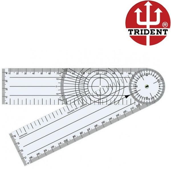 Goniômetro Grande Ortopedico Articular 20cm Pvc Trident