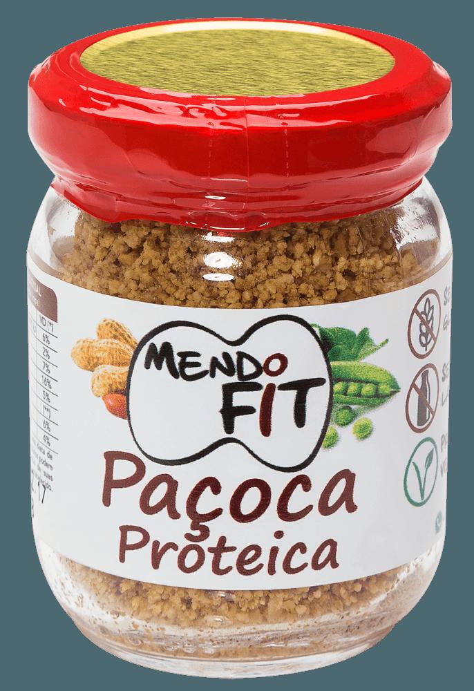 Paçoca proteica Mendo Fit 120g