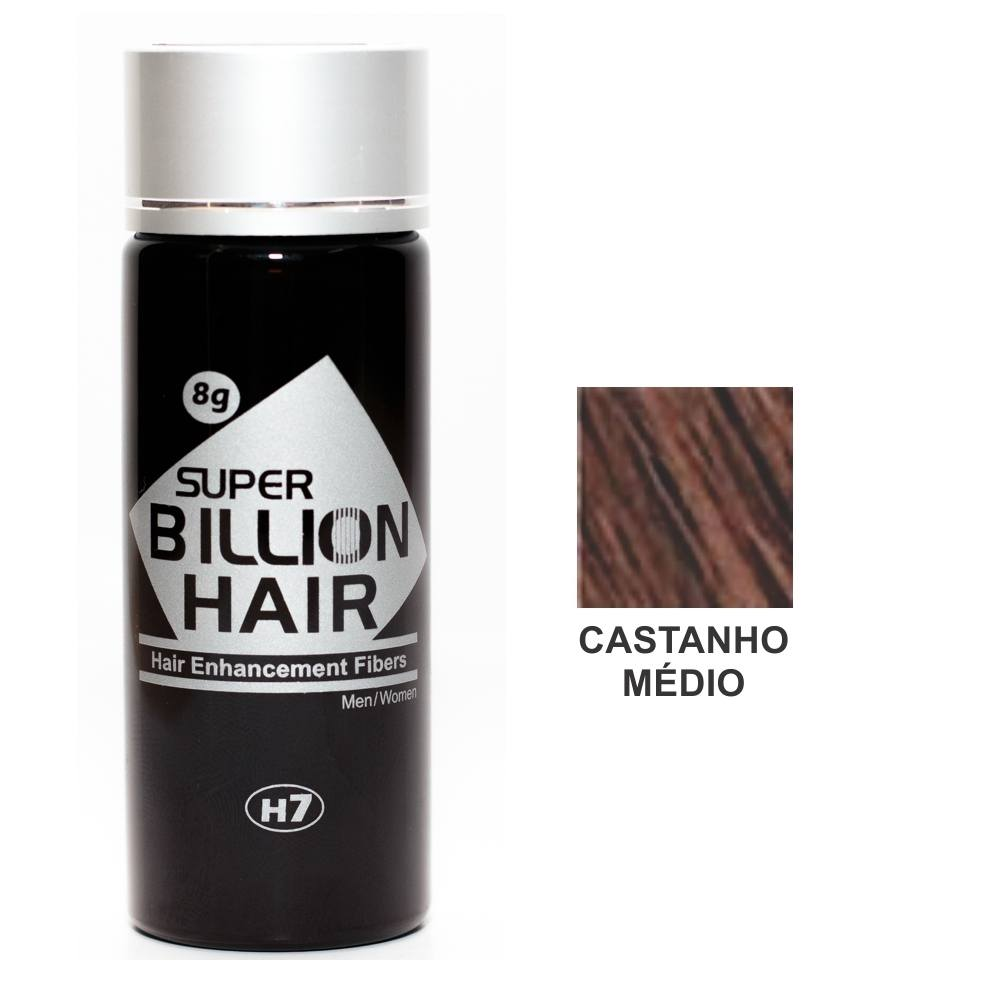 Kit 03 Maquiagem pra Calvície Billion Hair - Cast Médio 8g