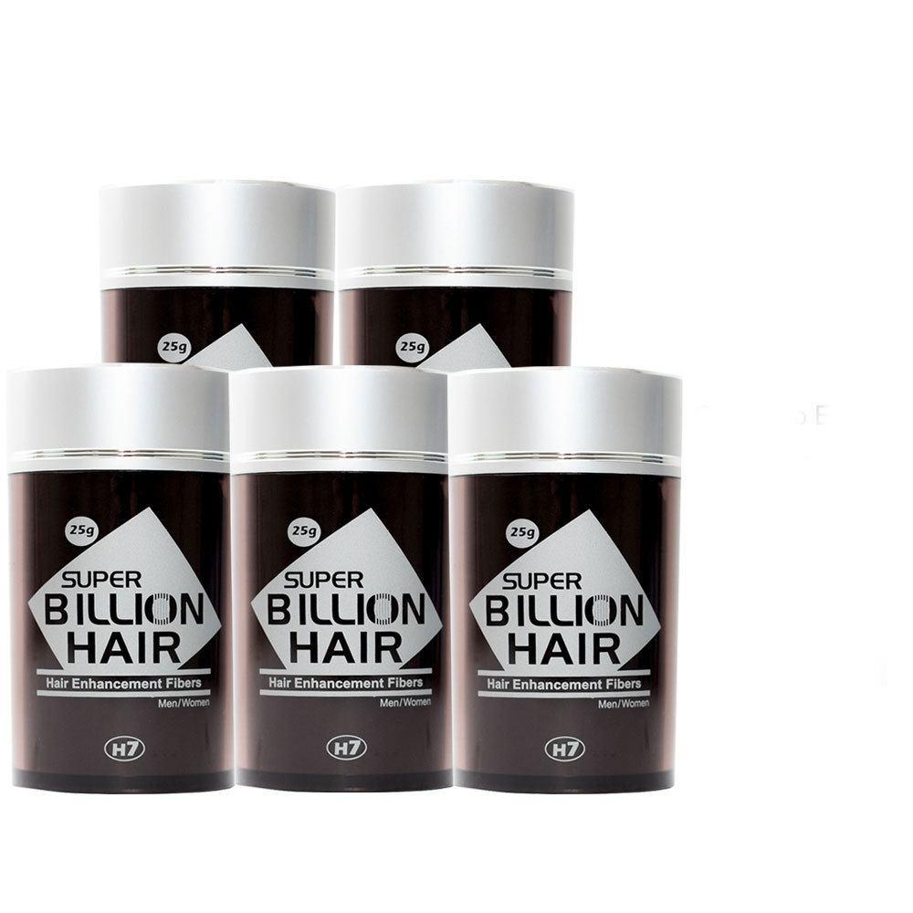 Kit 05 Maquiagem pra Calvície Billion Hair - 25g