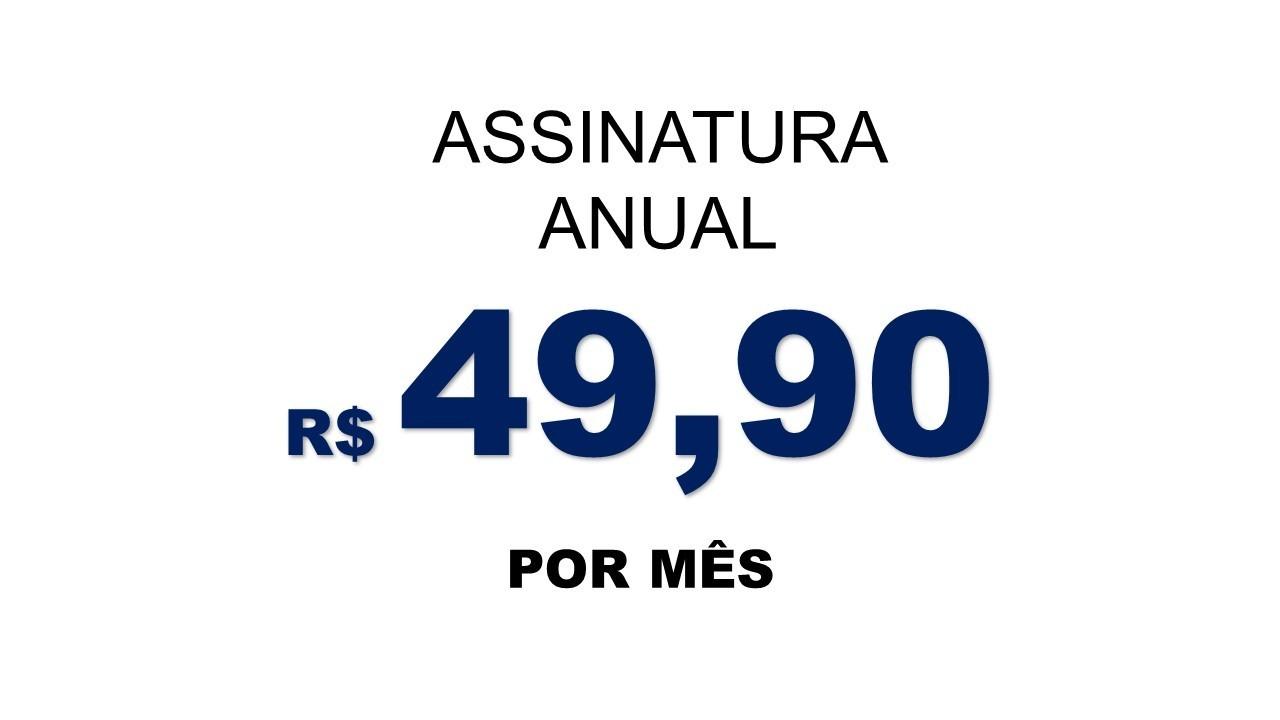 Plano Anual Rewards - 49,90 p/ mês