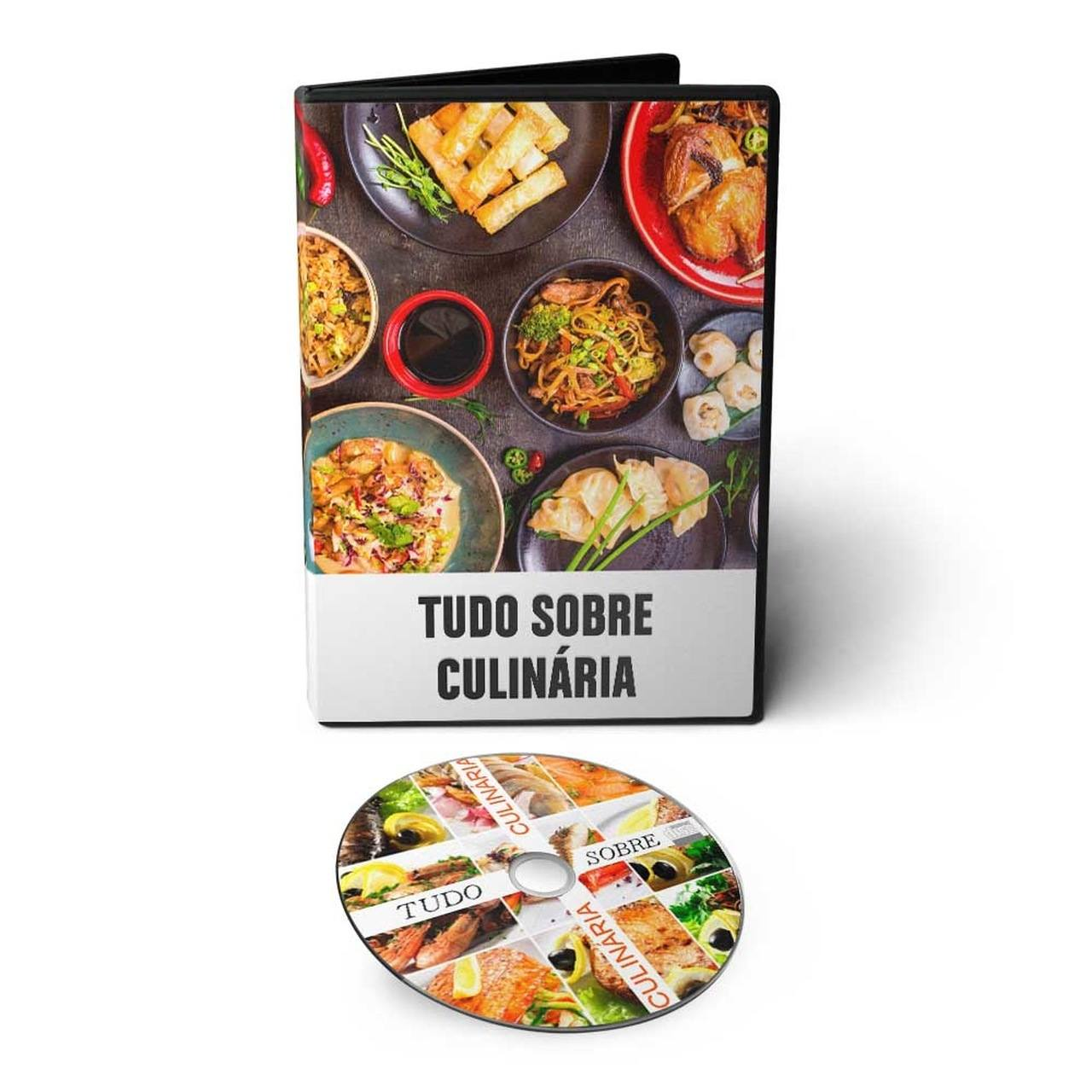 Tudo sobre Culinária + Milhares de Receitas em 02 DVDs