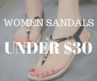 WOMEN SANDALS UNDER $30