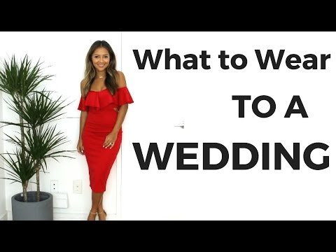What to Wear to A Wedding | Wedding Guest Dress Ideas