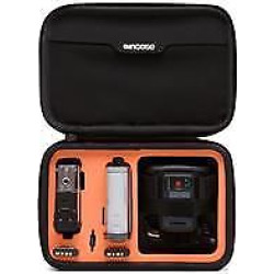 dual kit for sony action camera blackorange - Dual Kit for Sony Action Camera, Black/Orange