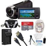 sony handycam cx405 flash memory full hd camcorder 32gb mini tripod bundle 150x150 - Sony Handycam CX405 Flash Memory Full HD Camcorder