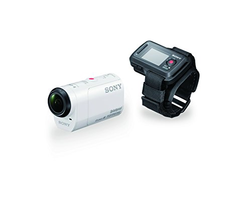 Sony HDRAZ1VR/W Action Camera Mini Kit with Live View Remote