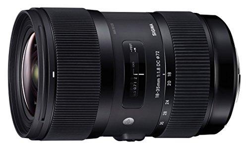 Sigma 18-35mm F/1.8 DC HSM Lens for Canon APS-C DSLR Cameras (Certified Refurbished)