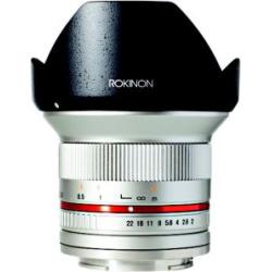 rokinon 12mm f20 ncs cs ultra wide angle lens sony e mount nex rk12m e - Rokinon 12mm F/2.0 NCS CS Ultra Wide Angle Lens Sony E-Mount (NEX) (RK12M-E) Silver