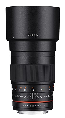 Rokinon 135mm F2.0 ED UMC Telephoto Lens for Nikon Digital SLR Cameras