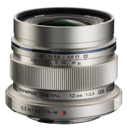 Olympus M. Zuiko Digital ED 12mm f/2.0 Lens for Micro Four Thirds Cameras
