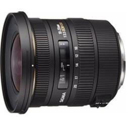 Sigma 10-20mm f/3.5 EX DC HSM ELD SLD Aspherical Super Wide Angle Lens for Canon Digital SLR Cameras – International Version (No Warranty)