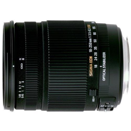 Sigma 18-250mm f/3.5-6.3 DC OS HSM IF Lens for Pentax Digital SLR Cameras