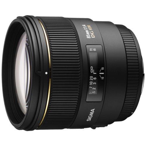 Sigma 85mm f/1.4 EX DG HSM Large Aperture Medium Telephoto Prime Lens for Sony Digital SLR Cameras
