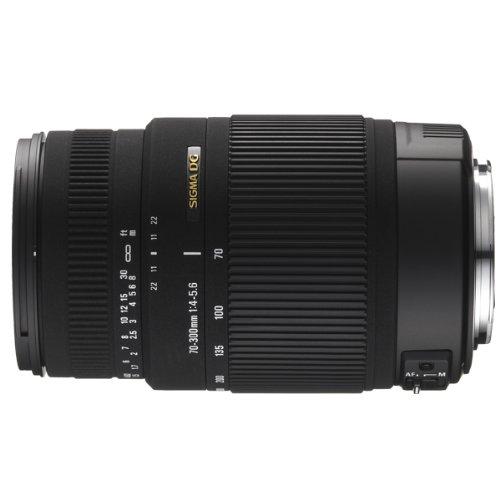 Sigma 70-300mm F/4-5.6 DG OS SLD Super Multi-Layer Coated Telephoto Lens for Nikon Auto Focus Mount Digital SLR Cameras