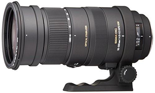 Sigma 50-500mm f/4.5-6.3 APO DG OS HSM SLD Ultra Telephoto Zoom Lens for Pentax Digital DSLR Camera