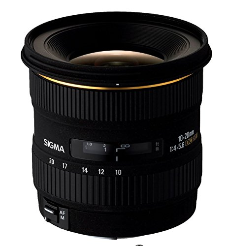 Sigma 10-20mm f/4-5.6 EX DC HSM Lens for Canon Digital SLR Cameras