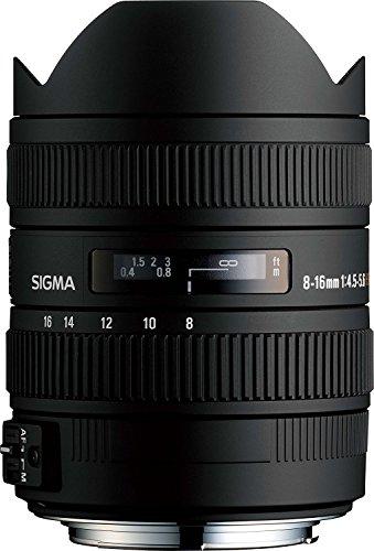 sigma 8 16mm f45 56 dc hsm fld af ultra wide zoom lens for aps c sized - Sigma 8-16mm f/4.5-5.6 DC HSM FLD AF Ultra Wide Zoom Lens for APS-C sized Nikon Digital DSLR Camera