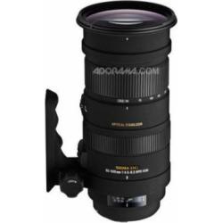Sigma 50-500mm f/4.5-6.3 APO DG OS HSM Telephoto Zoom Lens for Sigma DSLR Cameras – USA Warranty