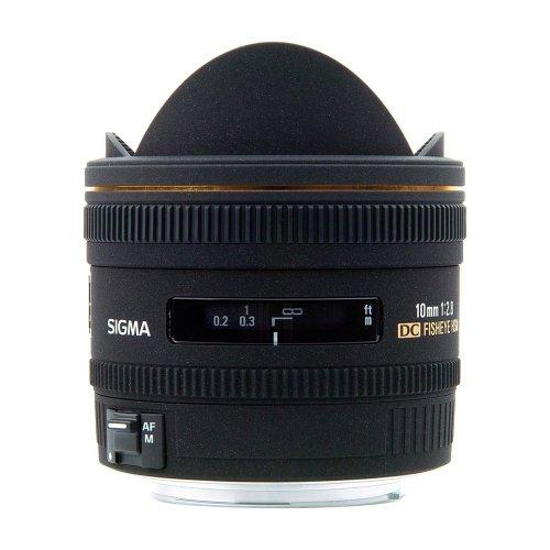 Sigma 10mm f/2.8 EX DC HSM Fisheye Lens for Sony Alpha Digital SLR Cameras