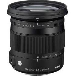 Sigma 17-70mm F2.8-4 DC Macro OS HSM Lens for Canon Mount Digital SLR Cameras