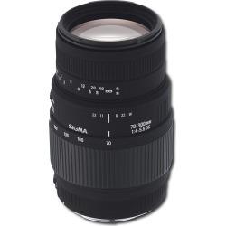 Sigma – 70-300mm Macro DL DG Lens for Sony Digital SLR Cameras – Black
