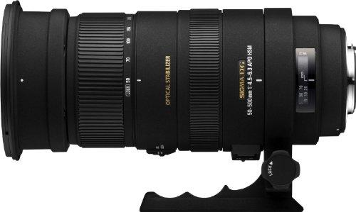 Sigma 50-500mm f/4.5-6.3 APO DG OS HSM SLD Ultra Telephoto Zoom Lens for Canon Digital SLR Camera – International Version (No Warranty)