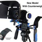 morros dslr rig movie kit shoulder mount rig with follow focus and matte box 150x150 - DSLR Rig Kit Shoulder Mount Rig with Follow Focus and Matte Box