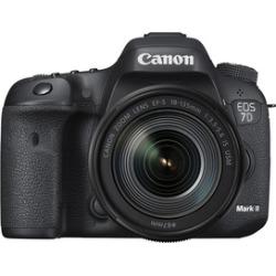 canon eos 7d mark ii digital slr camera black - Canon EOS 7D Mark II Digital SLR Camera - Black