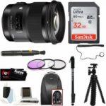 sigma 50mm f14 art dg hsm lens for canon dslr cameras w photo bunde 150x150 - Canon EOS 7D Mark II Digital SLR Camera - Black