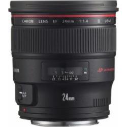 Canon EF 24mm f/1.4L II USM Wide Angle Lens – Fixed