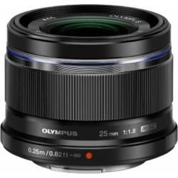 Olympus 25mm f1.8 Interchangeable Lens (Black)