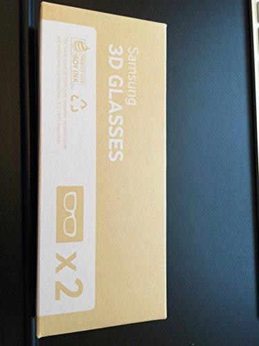 2x Original 3D Glasses SSG-5100GB with Battery for Samsung LED Plasma Smart TV